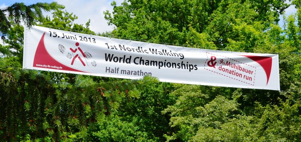 1. nūjošanas pasaules čempionāts Rodingā, pusmaratons